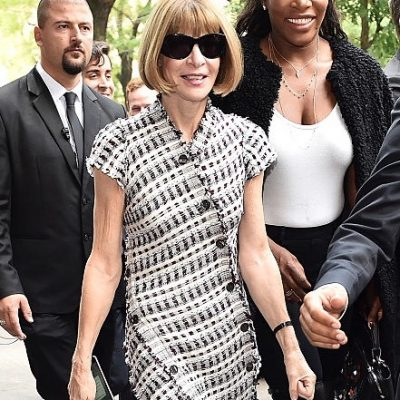 Anna Wintour e Serena Williams