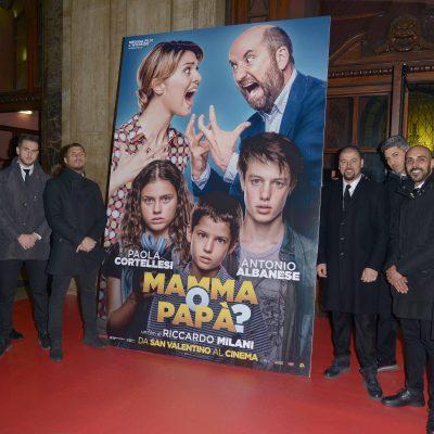 """Anteprima film """"Mamma o papà"""""""